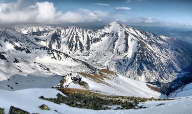 Žiarska dolina v zime